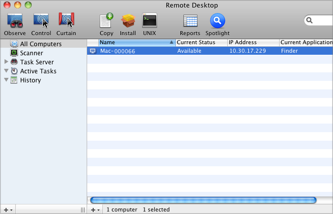 Deploying with Apple Remote Desktop