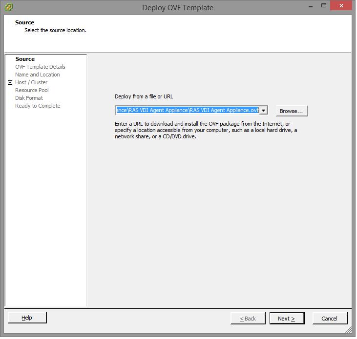 Prepare VMware vSphere for Parallels RAS