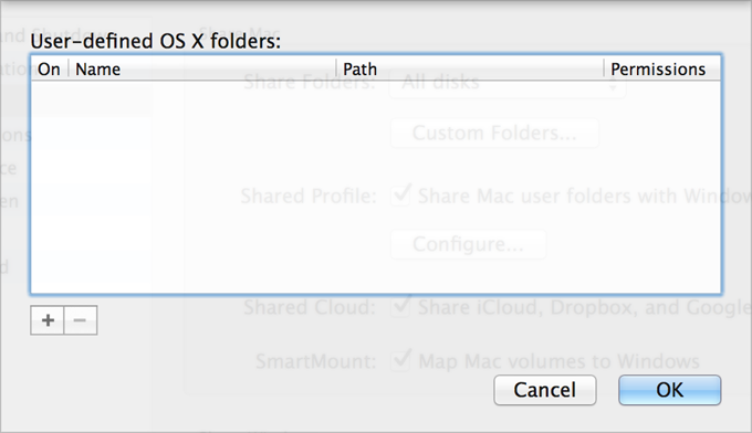 Share Files and Folders