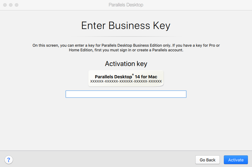 Install and Activate Parallels Desktop